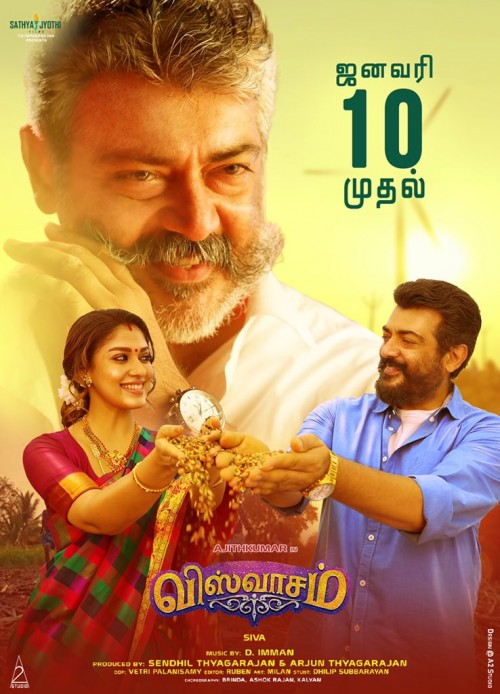 Download Viswasam (2019) WEB-DL Hindi (VoiceOver) & Tamil 480p 720p Dual Audio With Eng Subs Full Movie