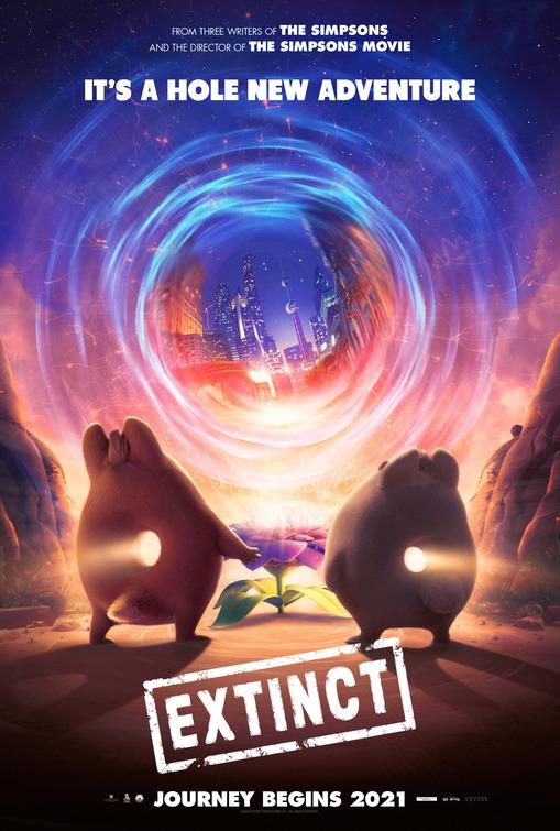 Extinct 2021 Hindi Dubbed 720p HDRip 700MB Download