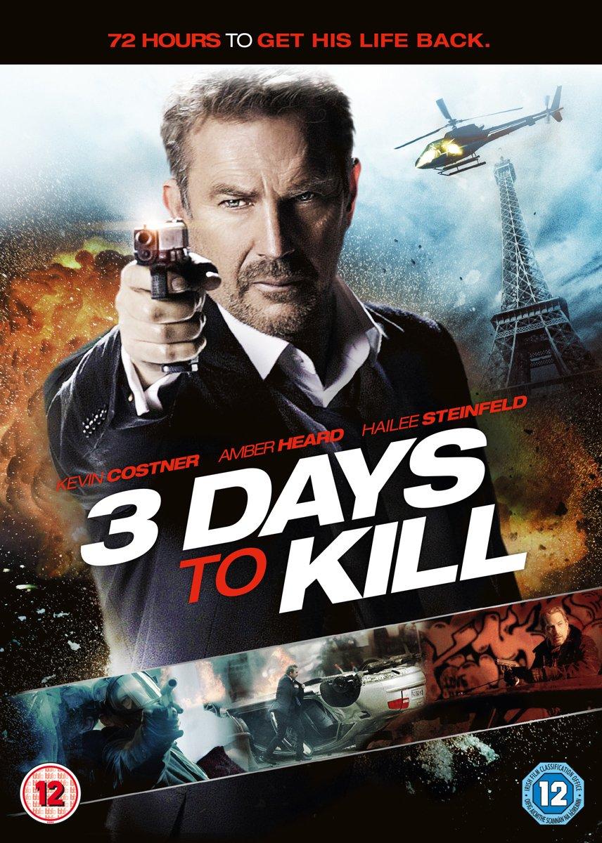 3 Days to Kill 2014 Hindi ORG Dual Audio 720p BluRay ESub 953MB Download