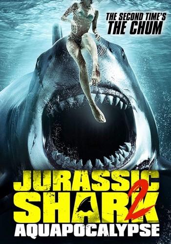 Jurassic Shark 2 Aquapocalypse 2021 English 720p AMZN HDRip ESub 792MB | 223MB Download
