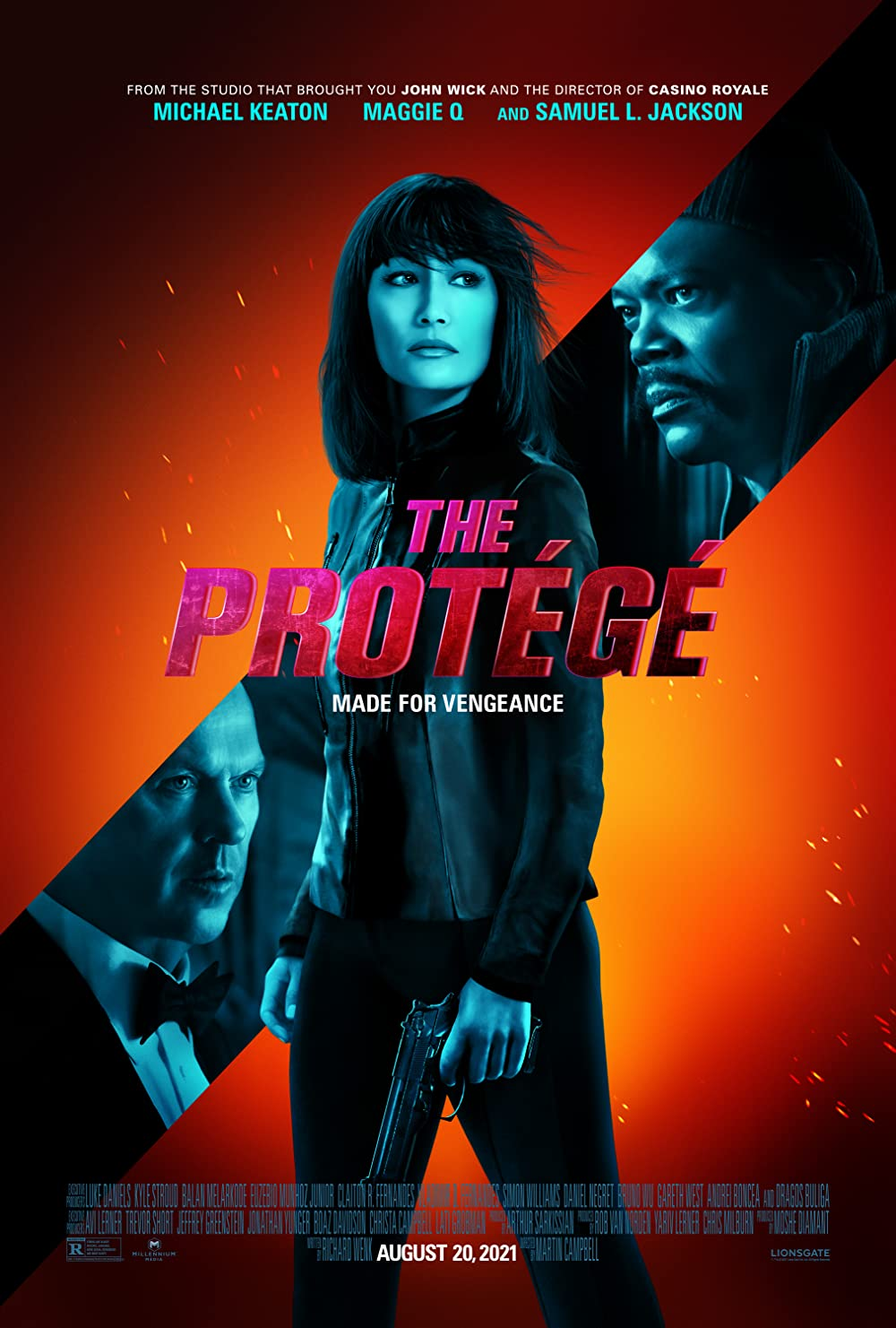 The Protege 2021 Unoffical Hindi Dubbed 480p HDRip 336MB Download