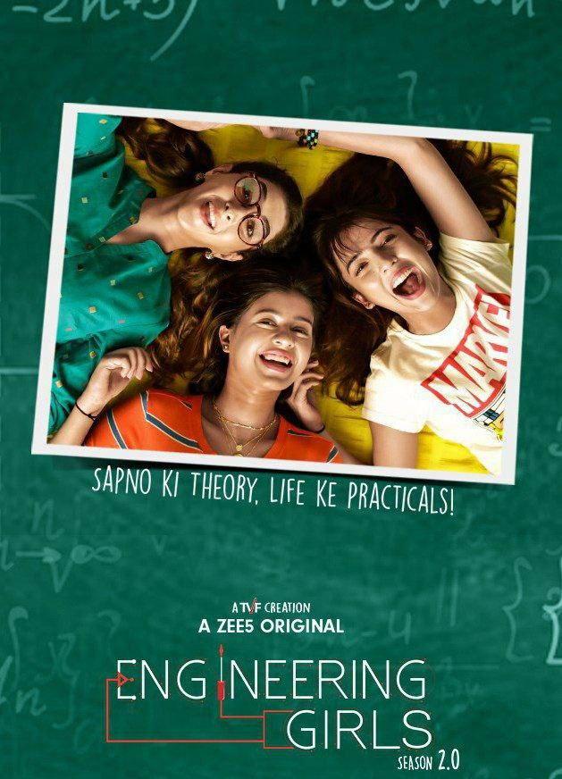Engineering Girls 2021 S02 Hindi Complete Zee5 Original Web Series 480p HDRip 344MB Download