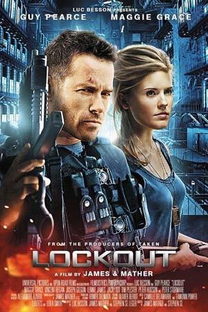 Lockout 2012 English Full Movie 720p 650MB Download