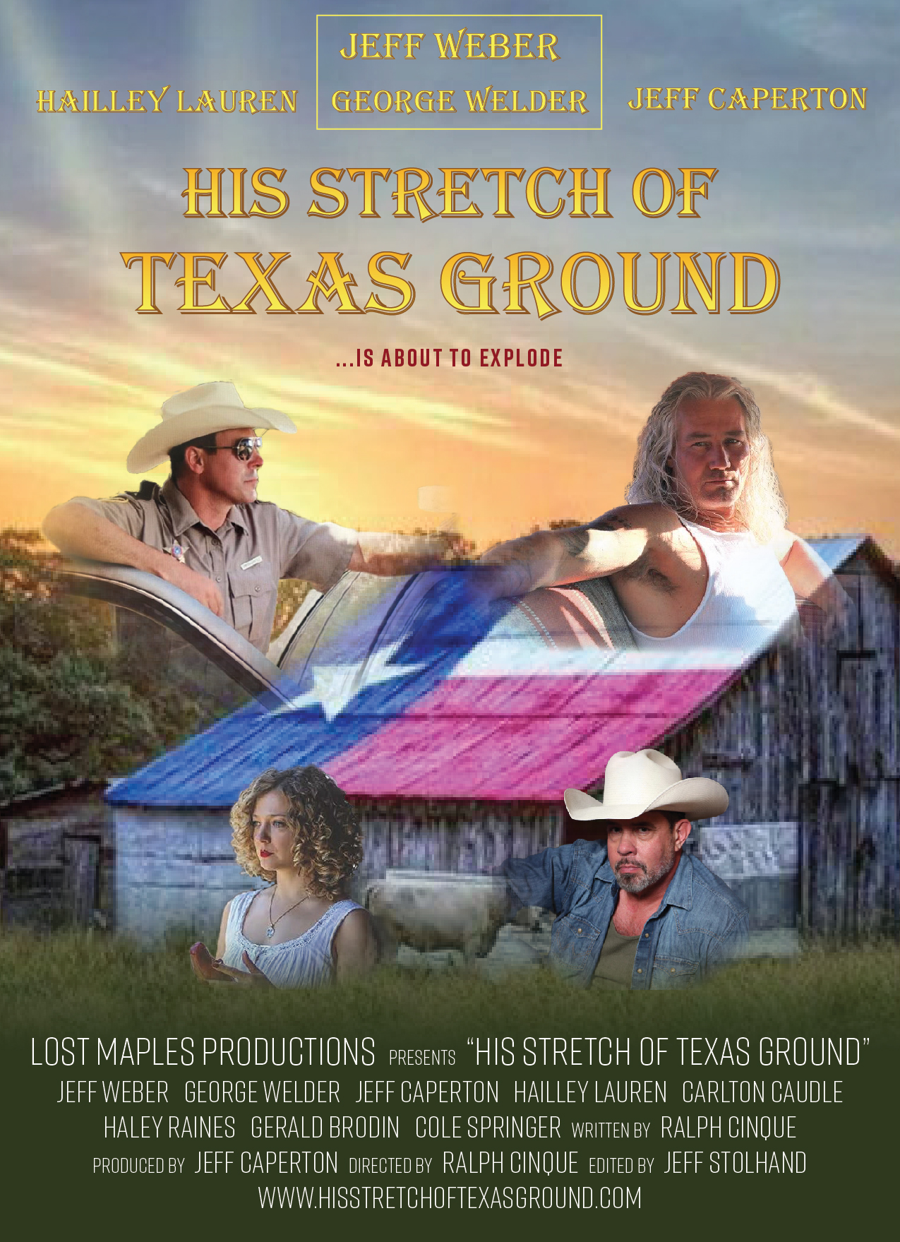 His Stretch of Texas Ground (2021) Hindi (Voice Over) Dubbed+ English [Dual Audio] WebRip 720p [1XBET]