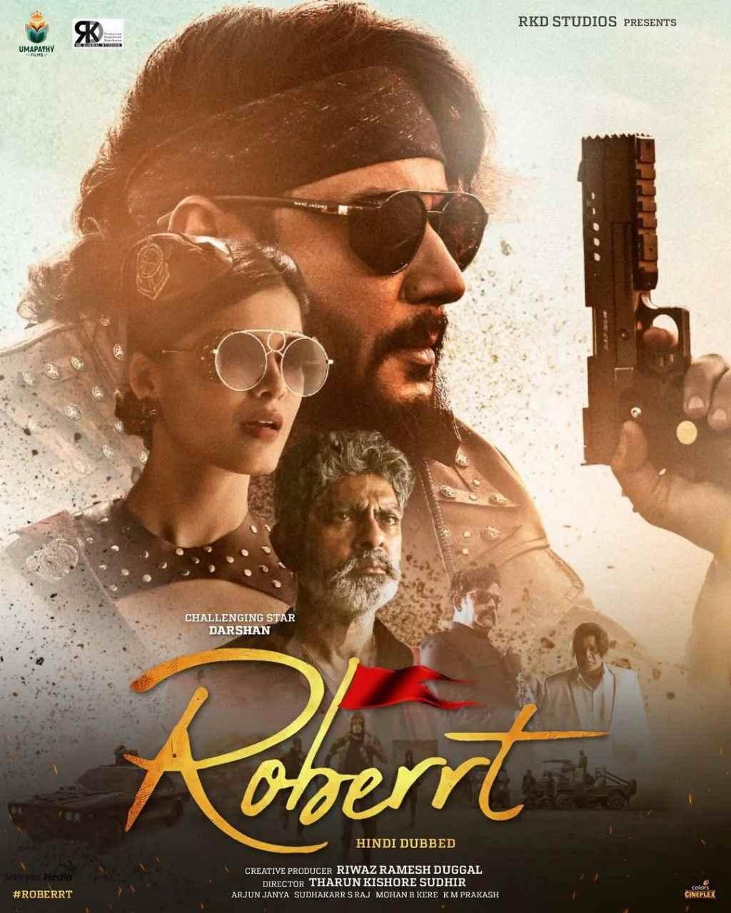 Roberrt 2021 ORG Hindi Dubbed Movie 480p HDRip 450MB x264 AAC