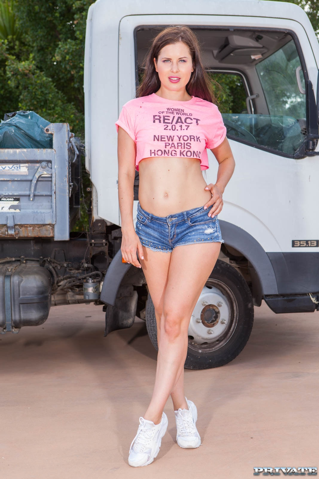 18+ Horny Hitchiker Two Truckers (2021) English 720p HDRip 350MB Download
