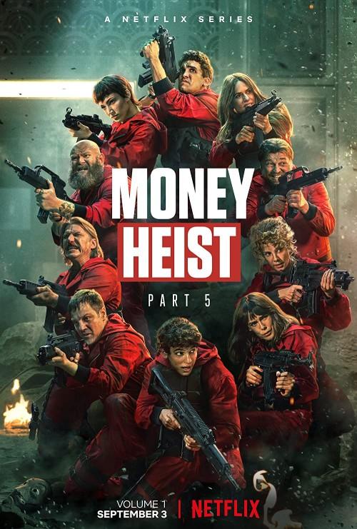 Money Heist Season 5 Vol. 1 (2021) All Episodes WEB-DL Dual Audio [Hindi & English] With Esubs Download