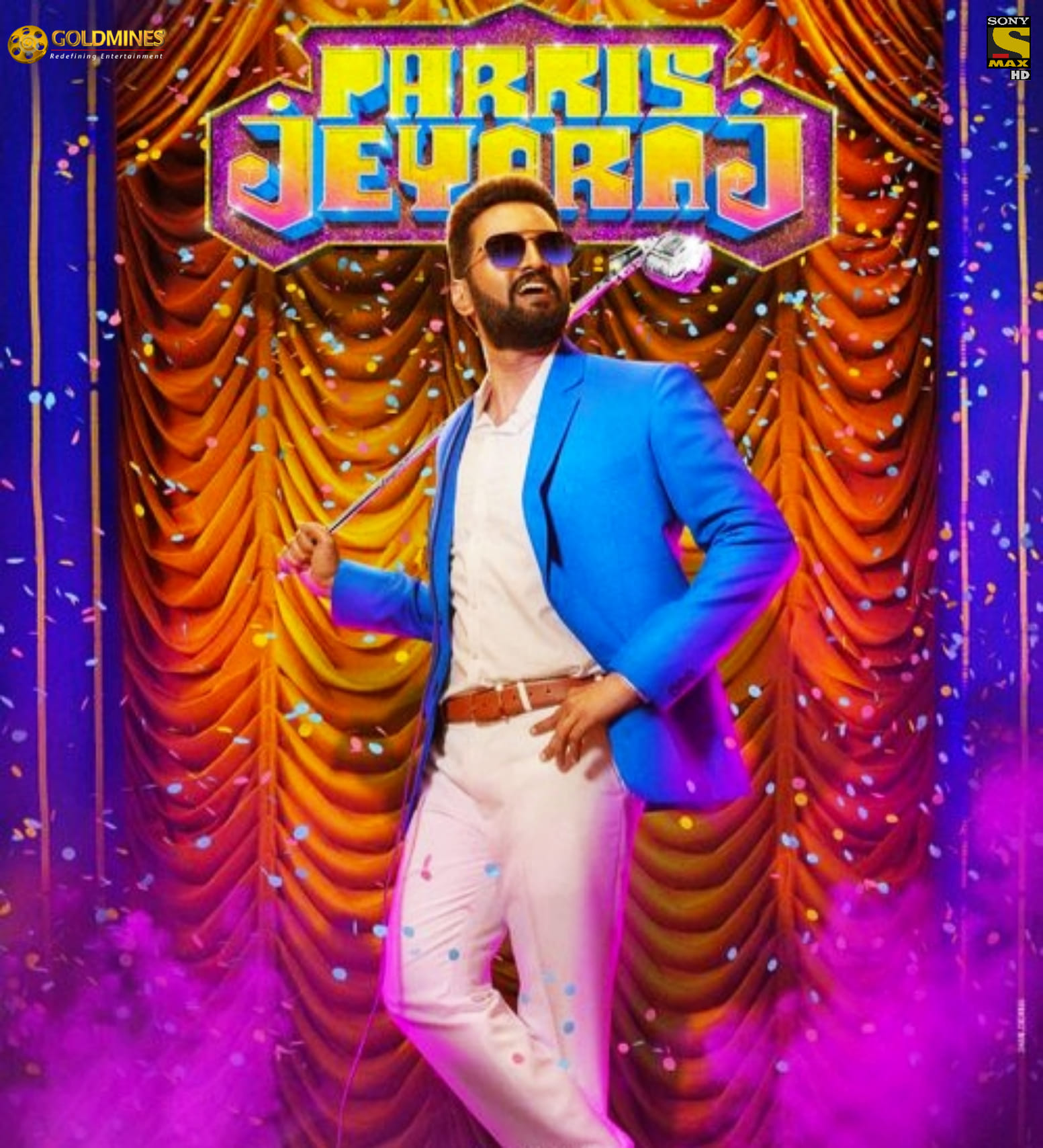 Parris Jeyaraj (2021) Hindi Dubbed ORG 720p HDRip 1.3GB Download