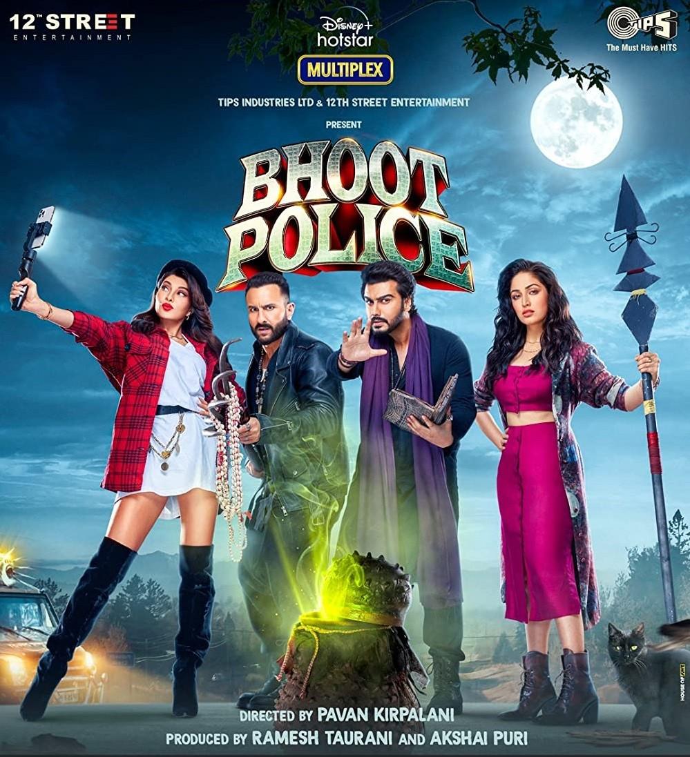 Bhoot Police 2021 Hindi Movie 400MB DSNP HDRip 480p ESubs Download