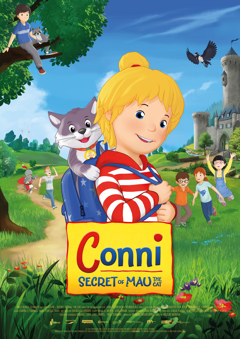 Conni and the Cat 2021 English 720p HDRip 800MB Download