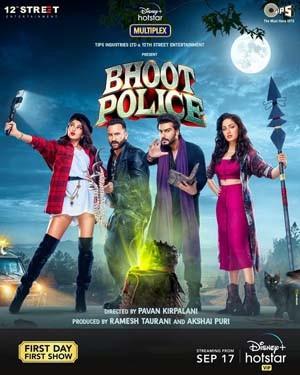 Bhoot Police 2021 Hindi Full Movie HDRip 400MB Download