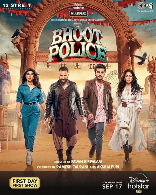 Bhoot Police (2021) WEB-DL Hindi 480p 720p 1080p Esubs Full Movie | Hotstar Film