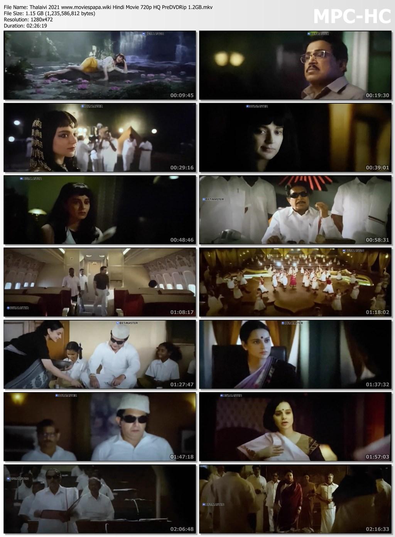 Thalaivi 2021 screenshot HDMoviesFair