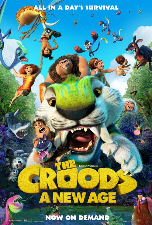 The Croods: A New Age (2020) WEB-DL Dual Audio Hindi [Cam] & English 480p 720p 1080p Full Movie