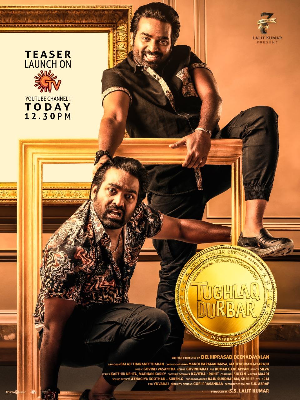 Tughlaq Durbar 2021 Tamil Movie 480p NF HDRip MSub 400MB Download