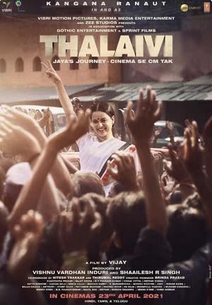 Thalaivi (2021) Hindi Movie HDRip 400MB Download