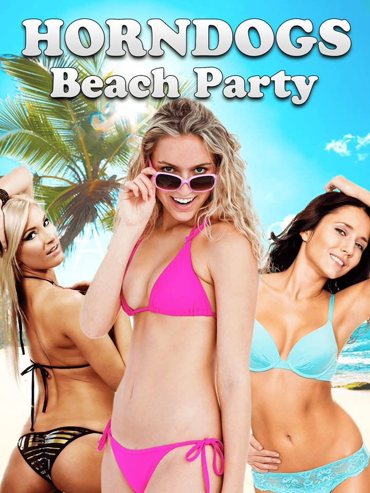 18+ Horndogs Beach Party 2018 English 480p HDRip 250MB Download