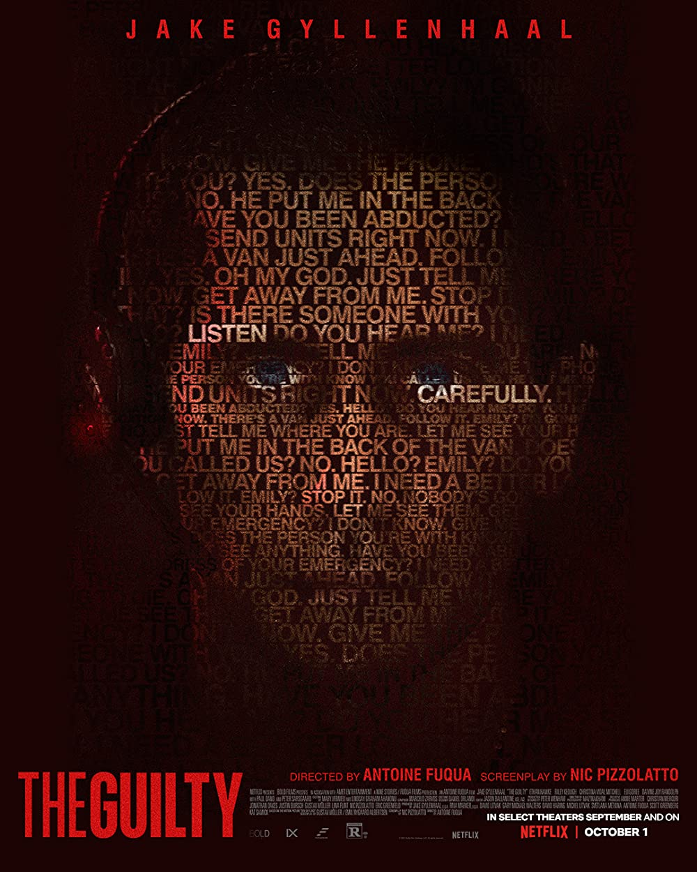 The Guilty 2021 English Movie 1080p HDRip 1.41GB Download