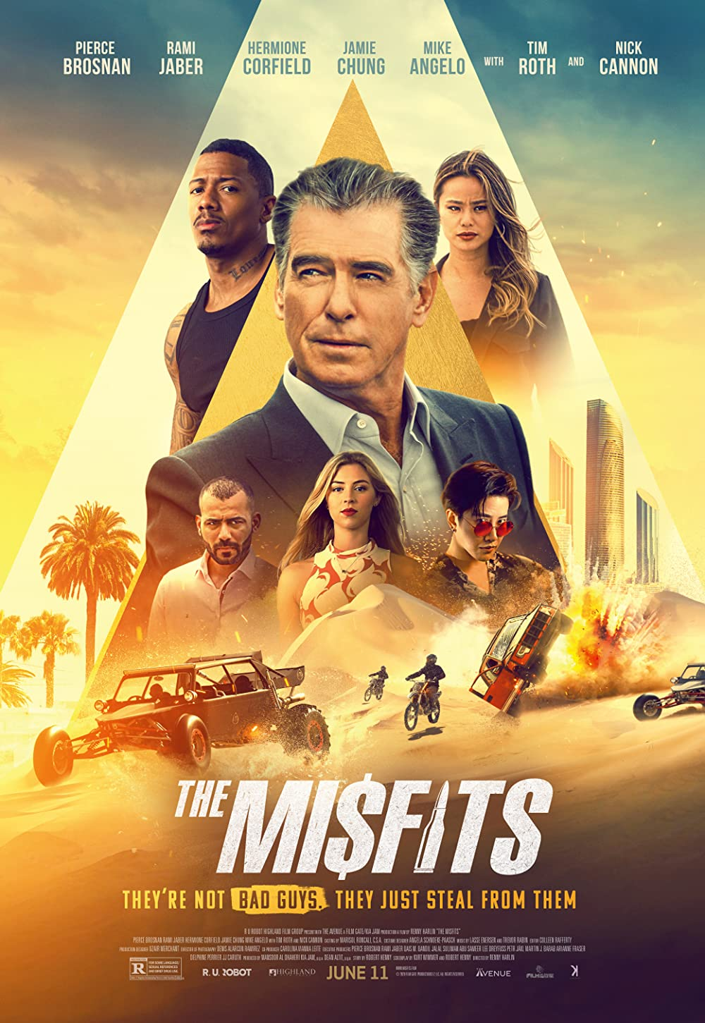The Misfits 2021 Hindi Dubbed 300MB HDRip 480p Download