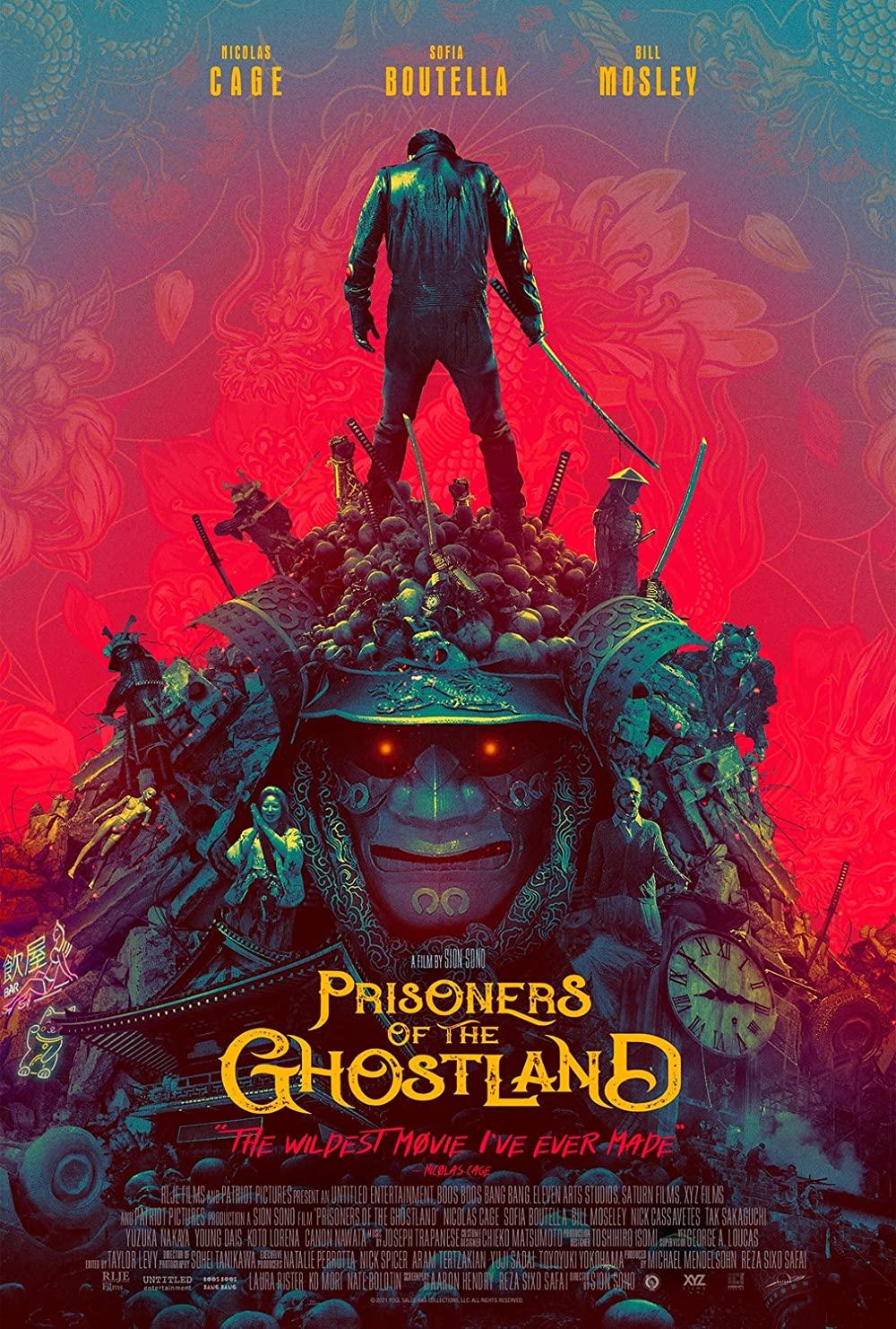 Prisoners of the Ghostland 2021 English 300MB HDCAMRip 480p Download