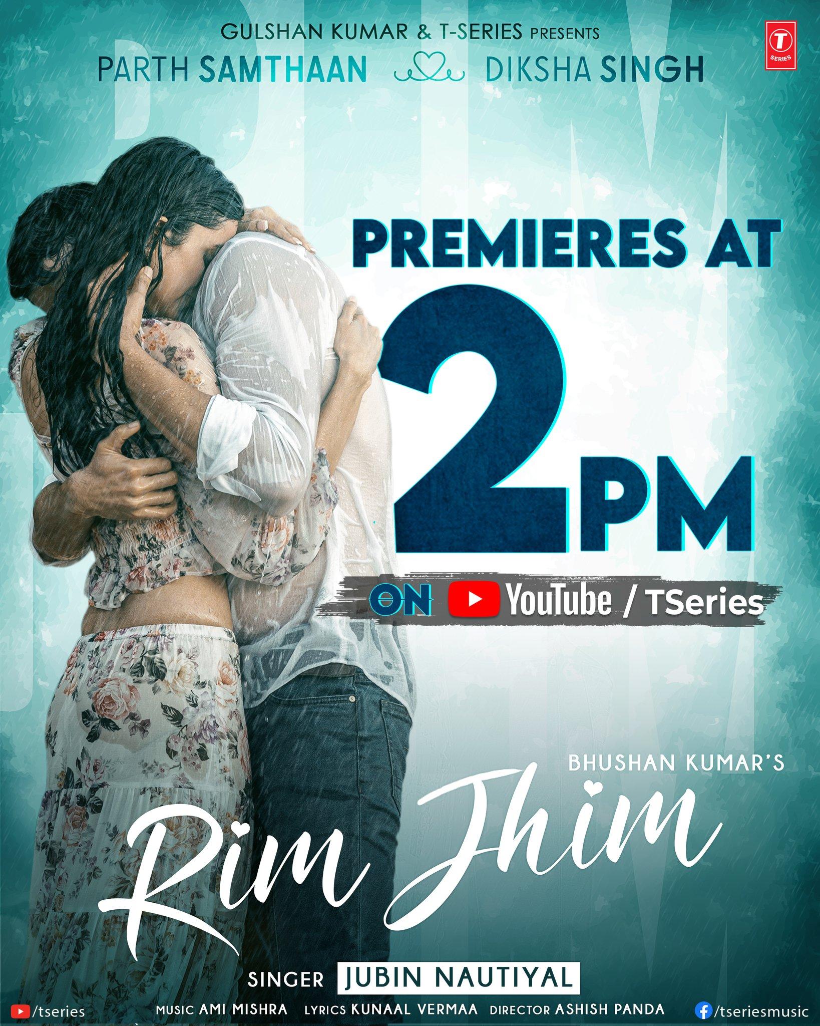 Rim Jhim By Jubin Nautiyal 2021 Official Hindi Music Video 1080p HDRip 103MB Download
