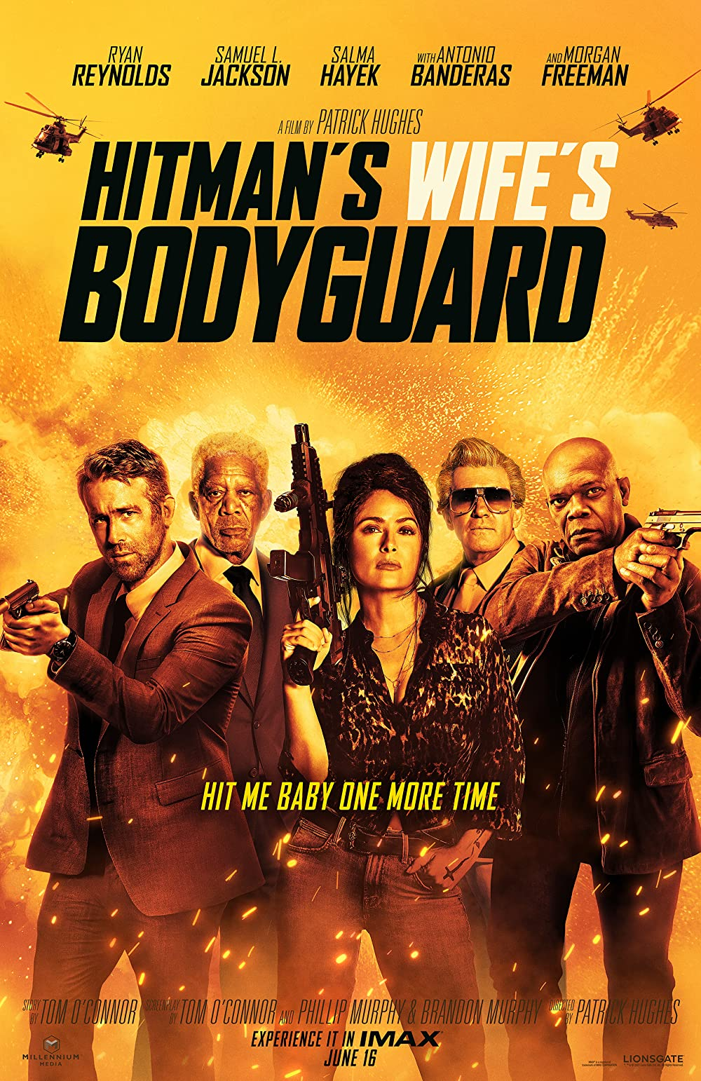 Hitman's Wife's Bodyguard 2021 Hindi Dubbed (Unofficial) 480p HDRip 350MB Download