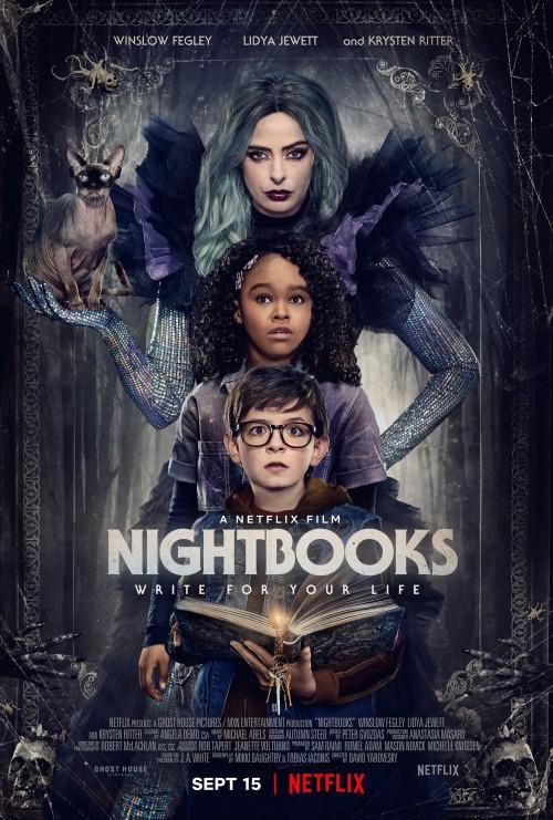 Nightbooks (2021) Hindi Dubbed Dual Audio WEB-DL 480p 720p 1080p Esub Full Movie