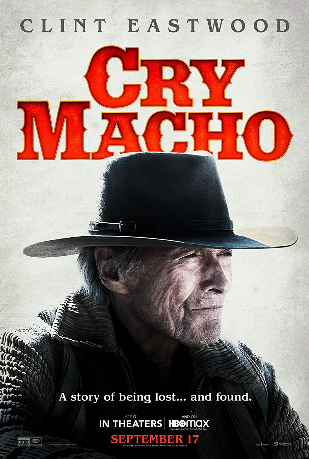 Cry Macho 2021 English 480p HMAX HDRip ESub 350MB Download