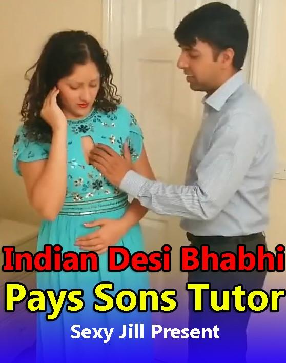 18+ Indian Desi Bhabhi Pays Sons Tutor With Sex (2021) Hindi Short Film 720p HDRip 200MB Download