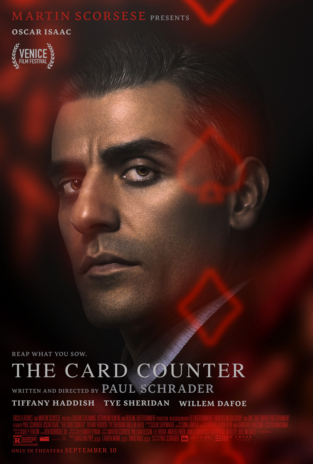 The Card Counter 2021 English 480p HDRip 350MB Download