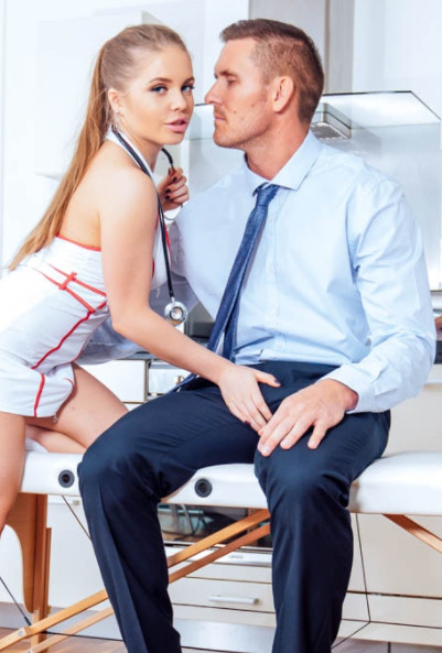 18+ Meet Horny Nurse Alessandra Jane 2021 HDRip 400MB Download