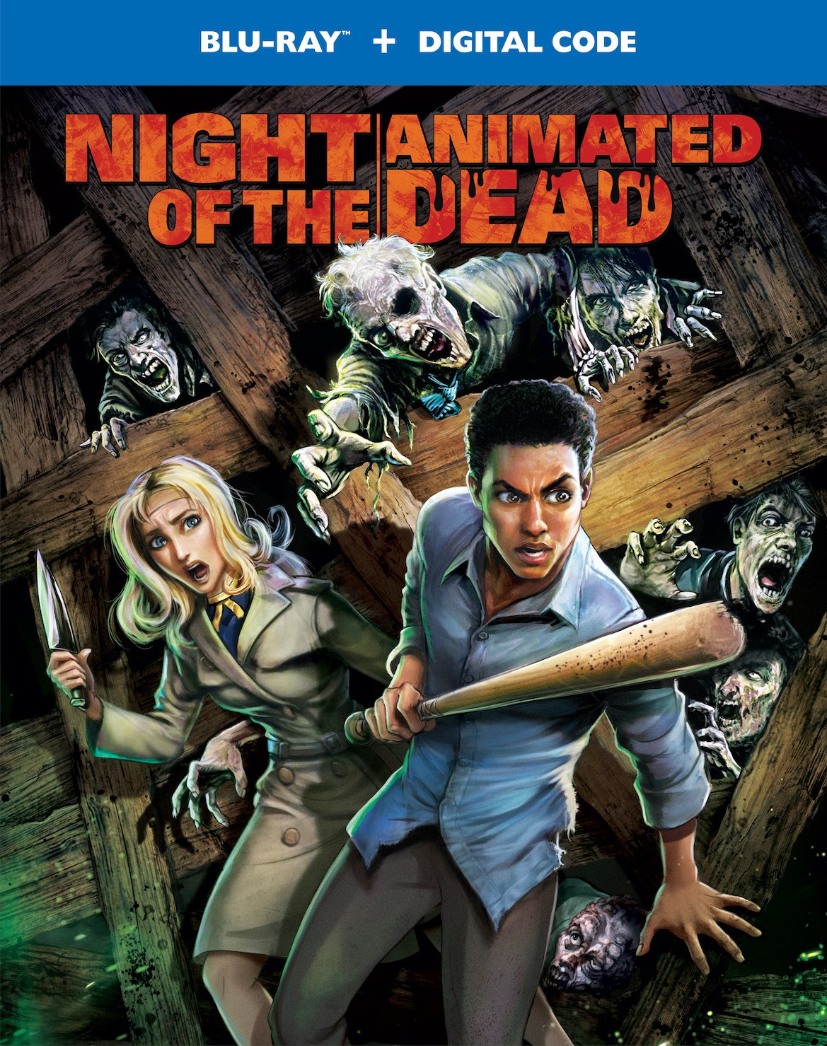 Night of the Animated Dead 2021 English 480p HDRip 250MB Download