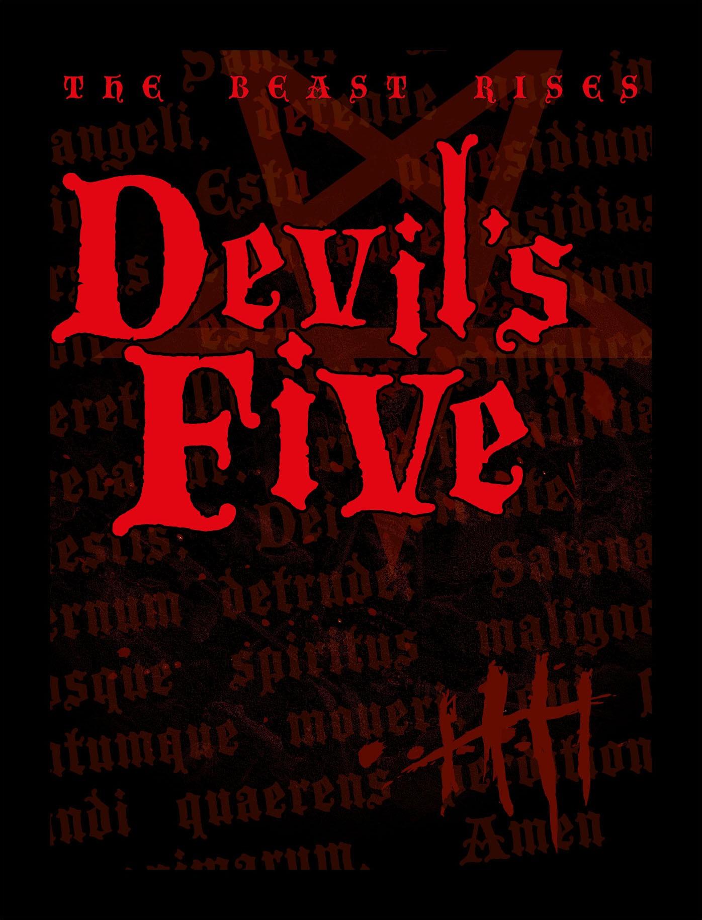 Devils Five 2021 English 480p HDRip 350MB Download