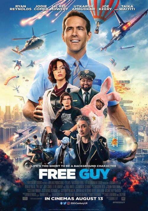 Free Guy (2021) WEB-DL 480p 720p 1080p Dual Audio Hindi [Cleaned] & English Full Movie
