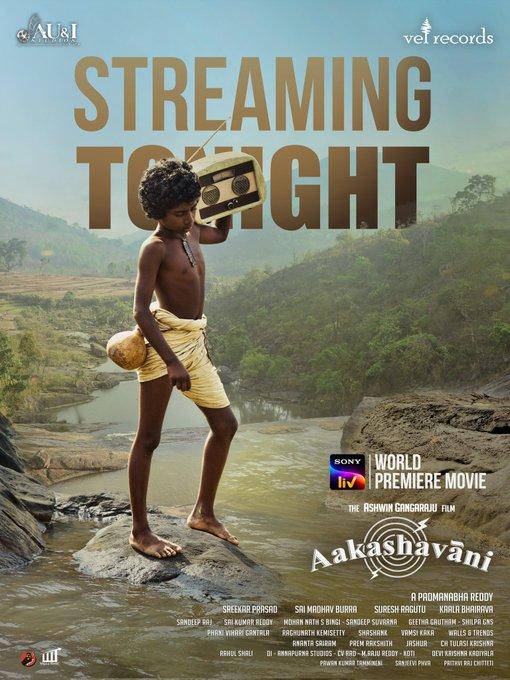 Aakashavaani (2021) Telugu Movie HDRip 400MB ESub