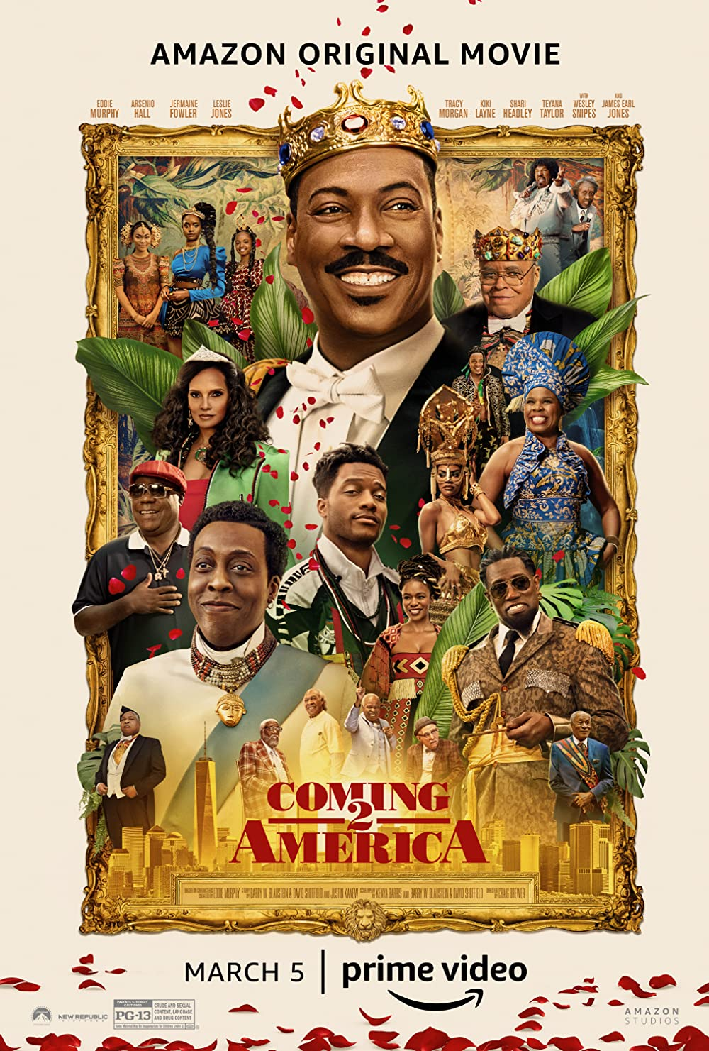 Coming 2 America 2021 Hindi Dubbed (Unoffical) 480p HDRip 350MB Download