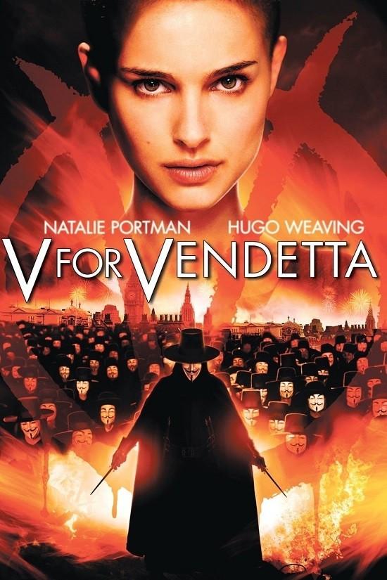 V for Vendetta (2005) Hindi ORG Dual Audio BluRay 450MB Download