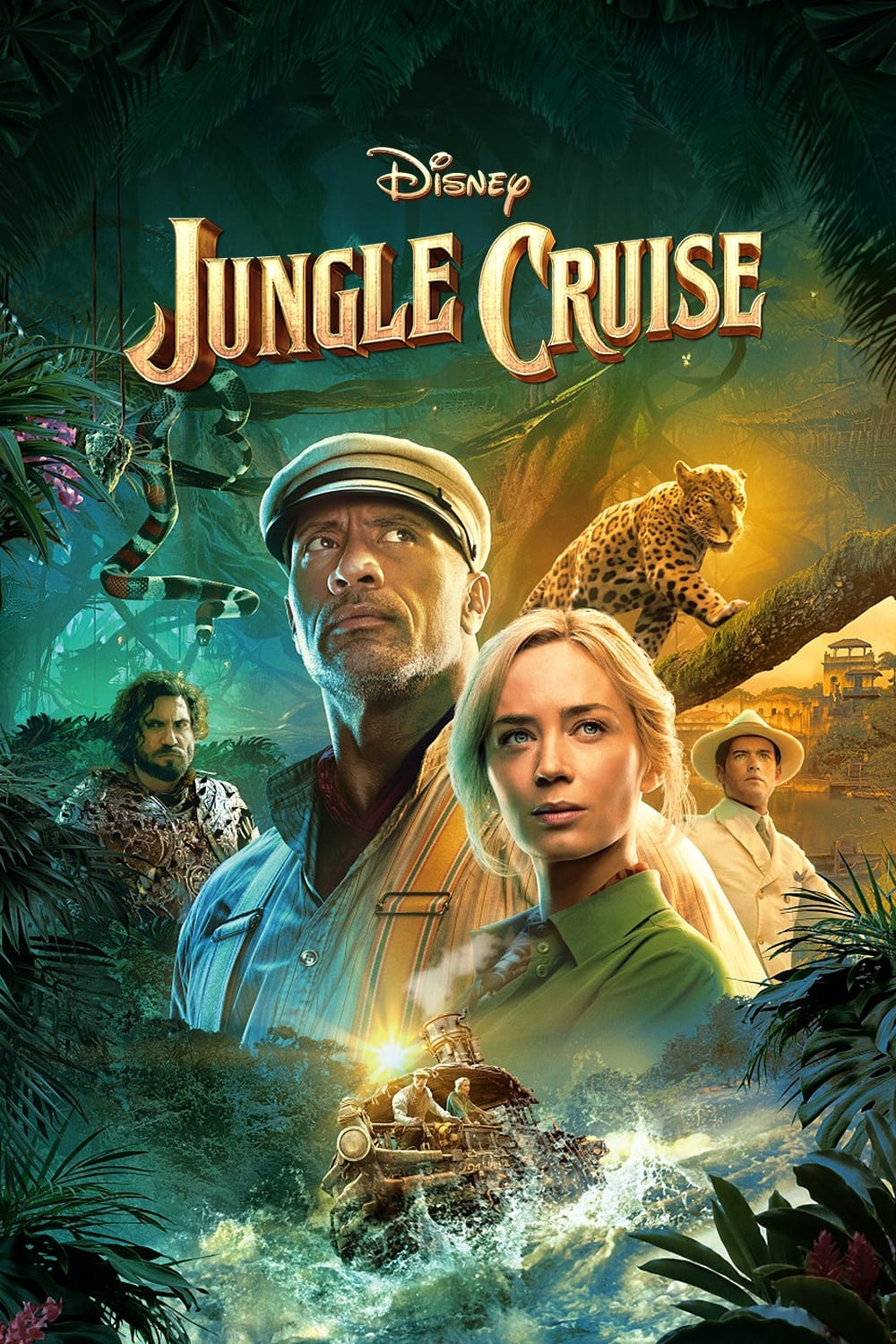 Jungle Cruise (2021) Hindi (CAM Cleaned) Dubbed HDRip 400MB Download