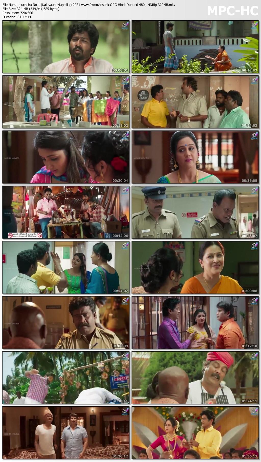 Luchcha No 1 (Kalavaani Mappillai) 2021 ORG Hindi Dubbed 480p HDRip 320MB Download