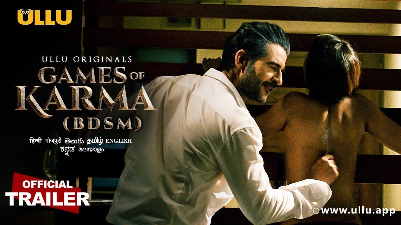 BDSM (Games of Karma) 2021 S01 Hindi Ullu Originals Web Series Official Trailer 1080p HDRip 20MB Download