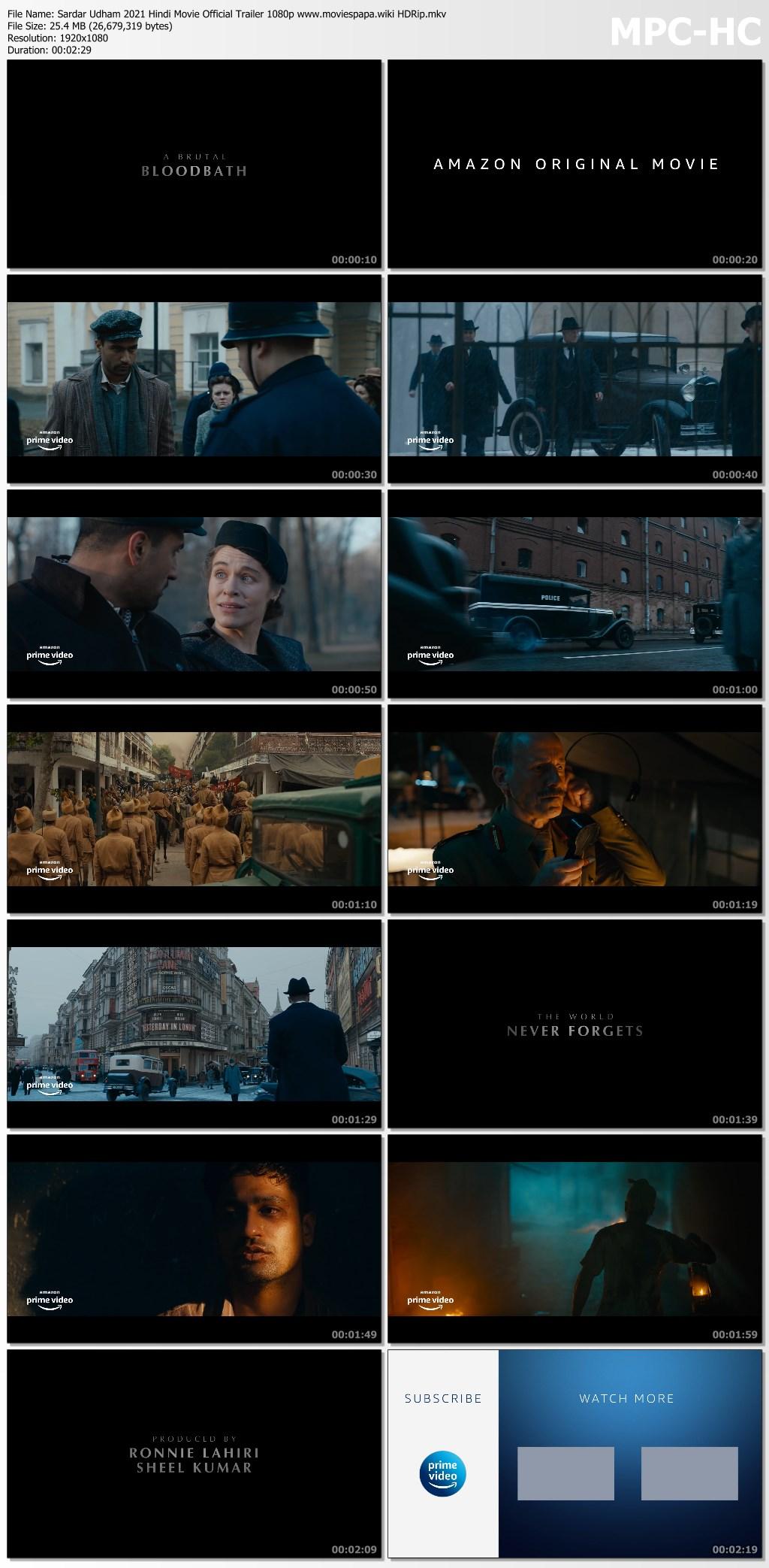 Sardar Udham 2021 screenshot HDMoviesFair
