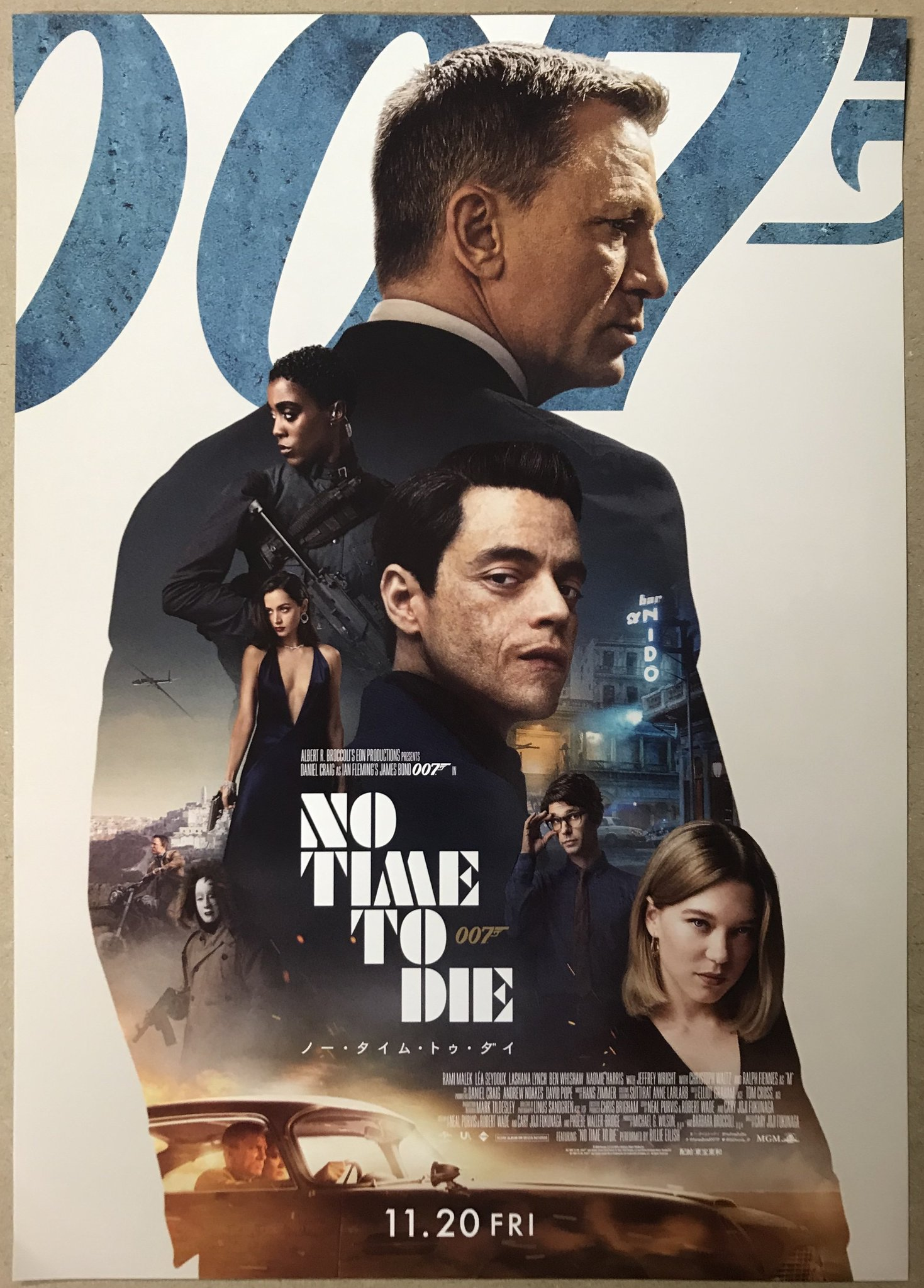 No Time to Die 2021 Hindi Dubbed 720p | 480p HDCAM 1.2GB Download