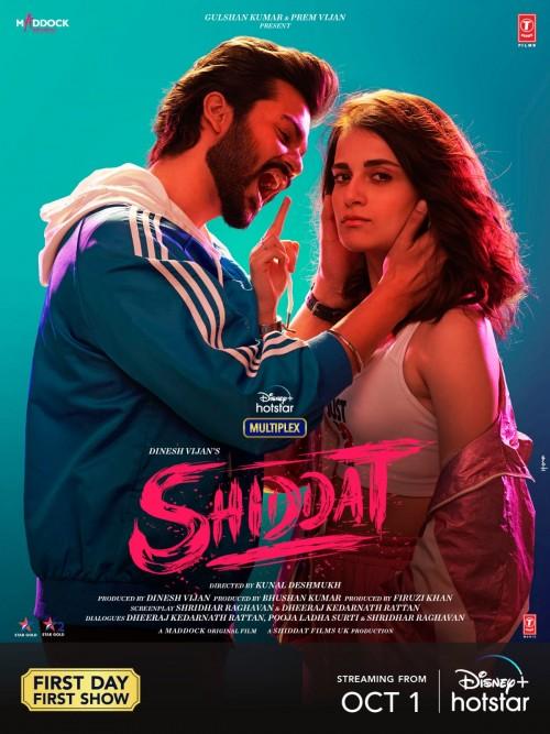 Shiddat (2021) WEB-DL Hindi DD5.1 480p 720p 1080p Full Movie