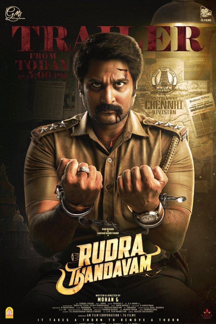Rudra Thandavam 2021 Tamil Movie 480p HQ PreDVDRip 431MB Download