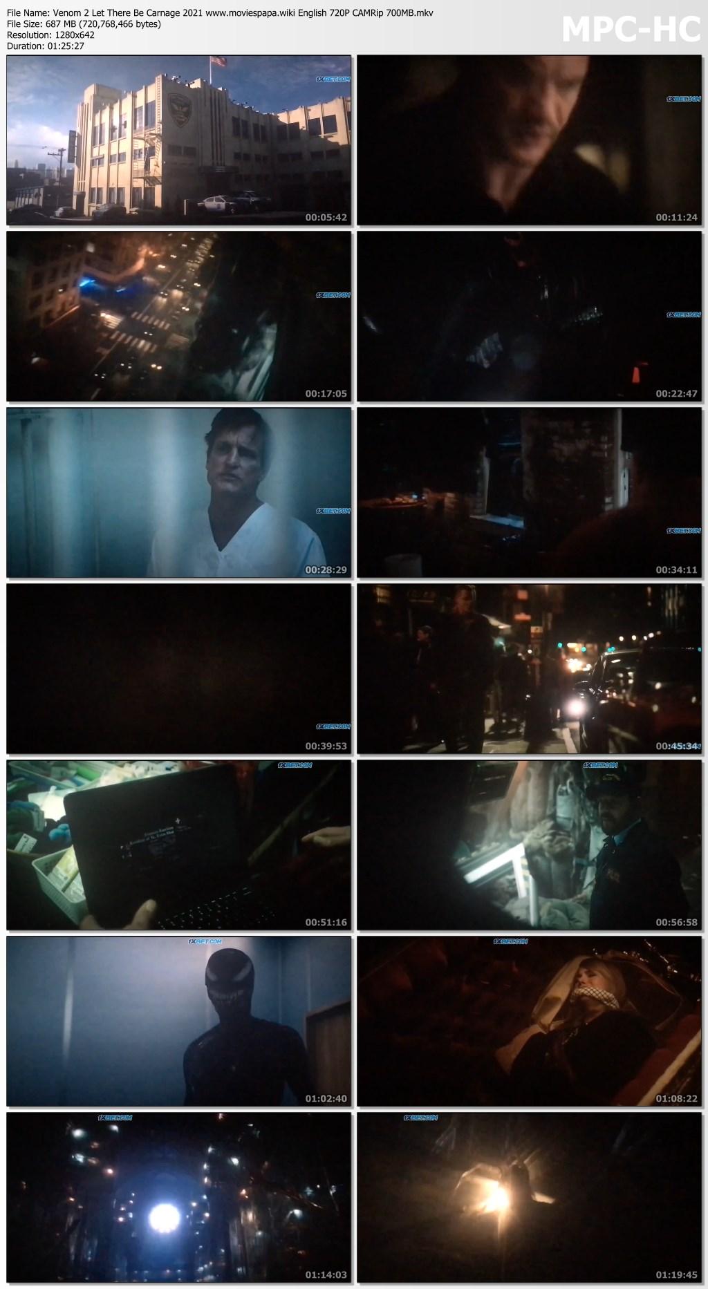 Venom 2 2021 screenshot HDMoviesFair