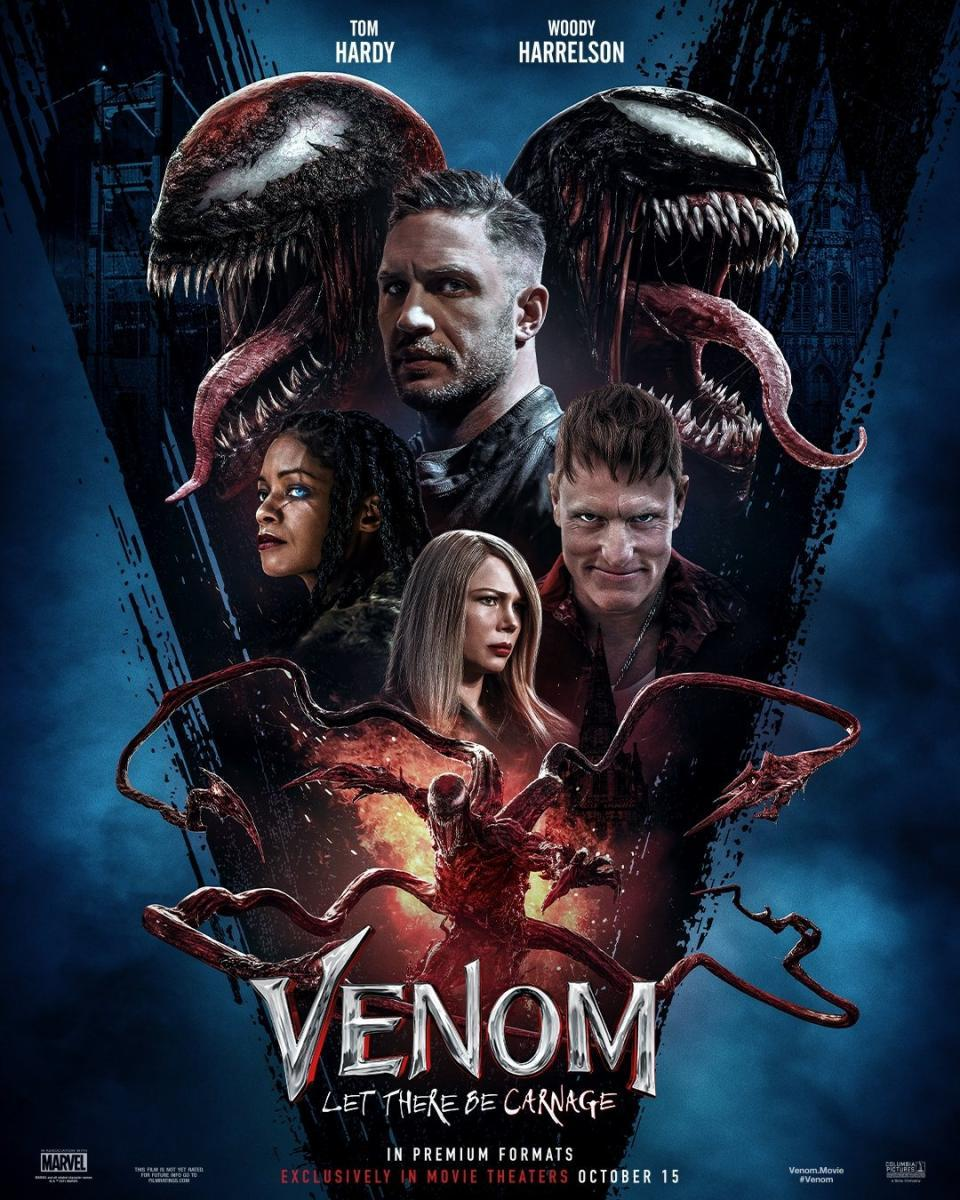 Venom 2 Let There Be Carnage 2021 English CAMRip 300MB Download