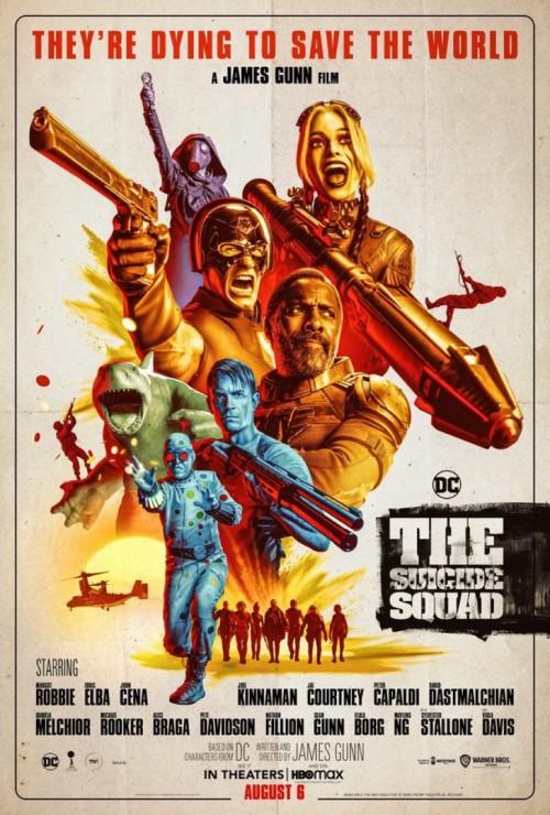 The Suicide Squad (2021) WEB-DL Hindi ORG DD5.1 & English 480p 720p 1080p Full Movie