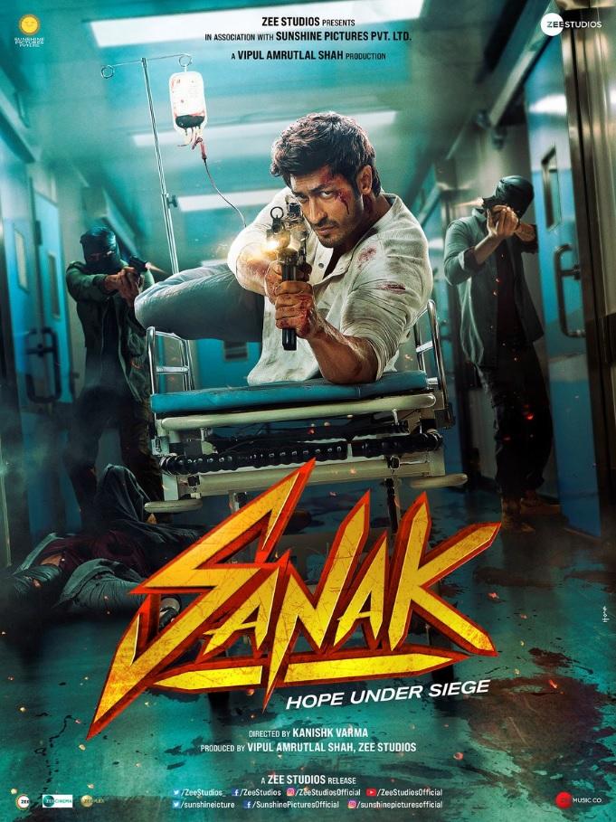 Sanak 2021 Hindi Movie Official Trailer 1080p HDRip Download