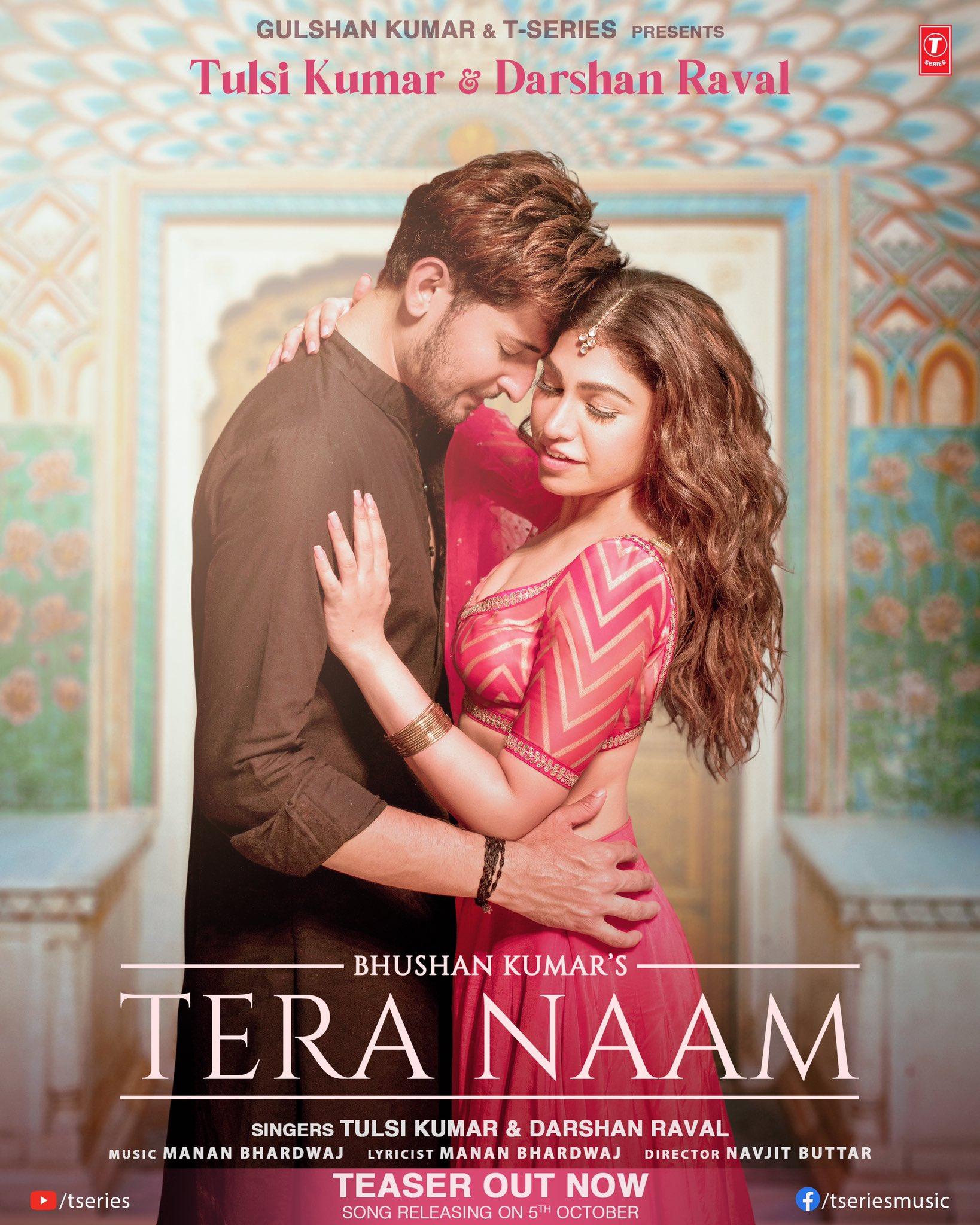 Tera Naam By Tulsi Kumar & Darshan Raval Official Music Video 1080p HDRip Download