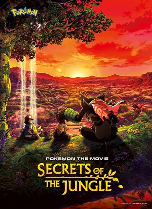 PokéMon the Movie: Secrets of the Jungle (2021) Dual Audio Hindi & English WEB-DL 480p 720p 1080p Full Movie